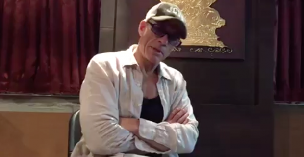 JCVD supports GAIA in heartwarming message