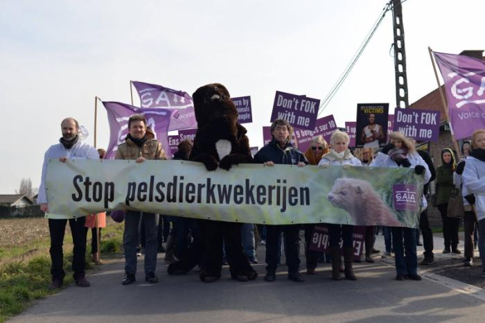 The end of fur farming in Langemark!