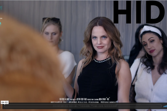 Nieuwe video Dustin Brown: actrice Mena Suvari steunt anti-bontcampagne GAIA