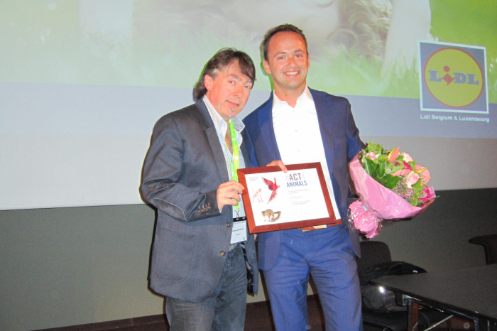 Lidl Belgium krijgt Corporate4Animals Award