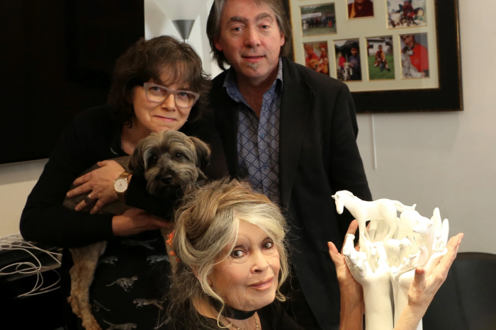 Brigitte Bardot receives the GAIA Lifetime Achievement Award